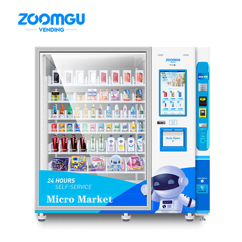 Zoomgu Intelligent Micro Market Robot Vending Machine Plus