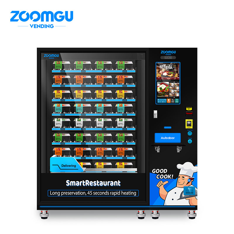 Zoomgu Lunch Box Hot Food Vending Machine